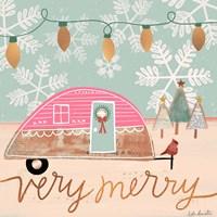 Merry Camper Fine Art Print