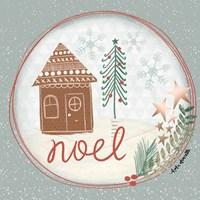 Noel Snow Globe Fine Art Print