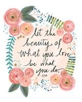 Rumi Quote Fine Art Print
