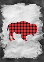 Plaid Buffalo Fine Art Print