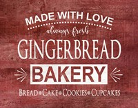 Gingerbread Bakery Fine Art Print