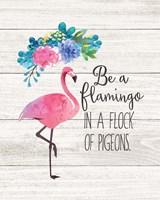 Be a Flamingo Fine Art Print