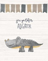 Later Alligator Fine Art Print