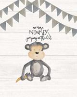 No More Monkeys Fine Art Print