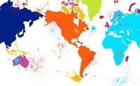 Color Map Fine Art Print