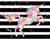 Unicorn Stripes Fine Art Print