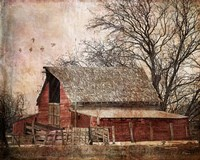 The Old Cope Place Fine Art Print