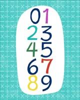 Math Numbers Fine Art Print
