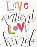 Patient and Kind Fine Art Print