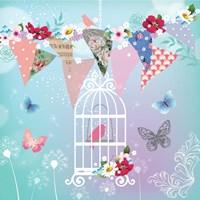 Bird in Cage Fine Art Print