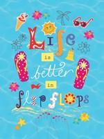 Live is Better Fine Art Print