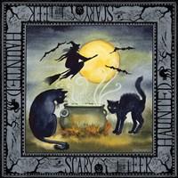 Haunting Halloween Night III Fine Art Print
