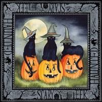 Haunting Halloween Night II Fine Art Print