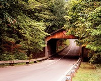 Covered Bridge Fine Art Print