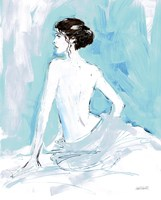 Nude II Blue Fine Art Print