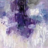 Violet Rain Fine Art Print