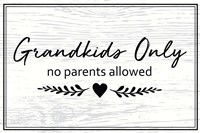 Grandkids Only Fine Art Print