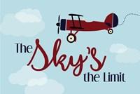 The Sky's the Limit Fine Art Print