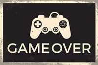 Game Over Fine Art Print