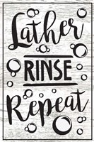 Lather, Rinse, Repeat Fine Art Print