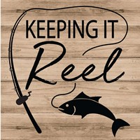 Keeping it Reel Fine Art Print