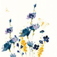 Blue Floral Fine Art Print