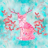 Fox Flower Fine Art Print