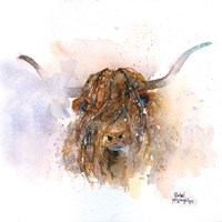Highland Cow Fine Art Print