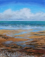 Beach Textures Fine Art Print