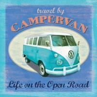 VW Camper Poster Fine Art Print