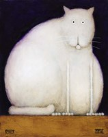 Fat Cat Fine Art Print