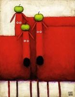 Tres Amigos Art Fine Art Print