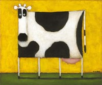 Yellow Cow Fine Art Print