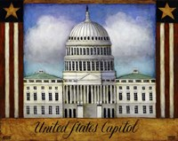 The Capitol Fine Art Print