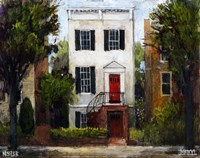 The Sousa House, Capitol Hill Fine Art Print
