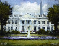 The White House Fine Art Print