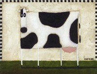 White Cow Fine Art Print