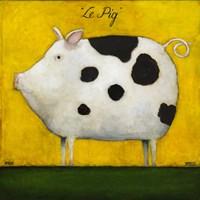 Le Pig 1 Fine Art Print