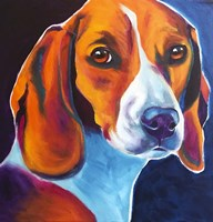 Beagle - Lucy May Fine Art Print