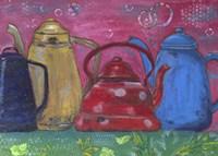 Cafeteras Fine Art Print