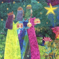 Three Wise Men Fine Art Print