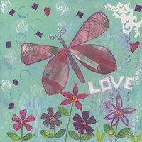 Love Butterfly Fine Art Print