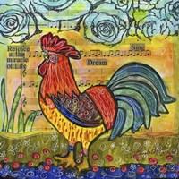 Rooster Rejoice Fine Art Print
