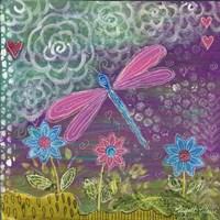 Pink Dragonfly Fine Art Print