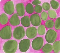 Pebbles Green Fine Art Print