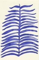 Blue Leaves Fine Art Print