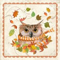 Fall Owl Fine Art Print