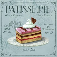 Patisserie 2 Framed Print