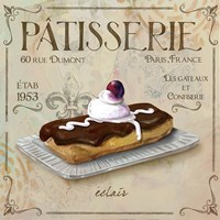 Patisserie 3 Fine Art Print