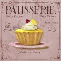 Patisserie 4 Fine Art Print